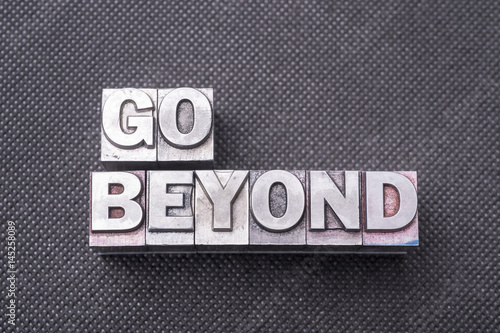 go beyond bm Poster