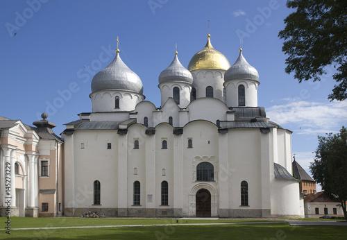 Poster Cathedral of St. Sophia in Veliky Novgorod.