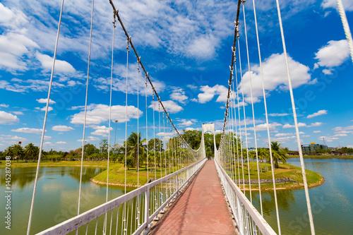 Udon Thani central park bridge