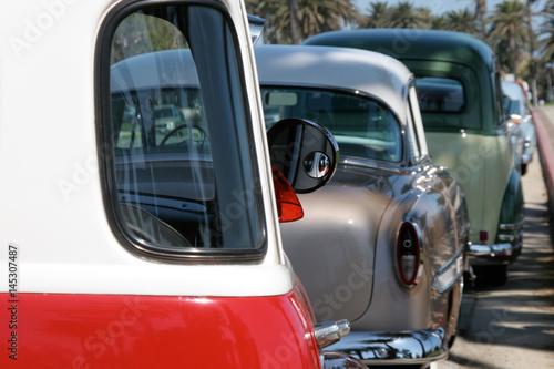 Foto op Canvas Route 66 car culture