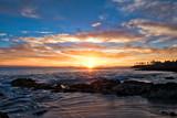 laguna beach sunset & clouds
