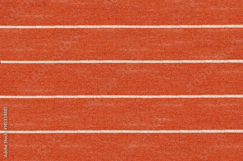 Running track in top view. Poster
