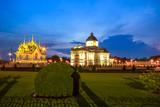 The Ananta Samakhom Throne Hall in Thai Royal Dusit Palace, Bangkok, Thailand.