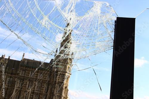 Keuken foto achterwand Antwerpen Hafengebäude in Antwerpen