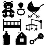 Baby Icons Wall Sticker