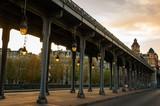 Fototapeta Paris - Pont de Bir-Hakeim © zuzannabw