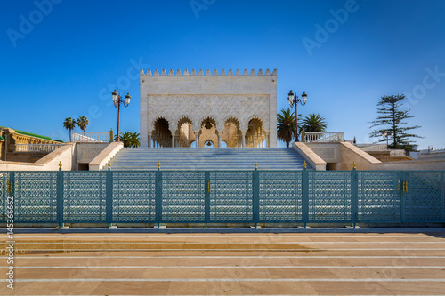 Fotobehang Marokko Mausoleum Mohamed V. in Rabat, Morocco