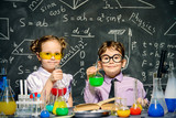 two little scientists - 145376046