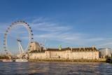 London tourist train known as the London Eye - 145395836
