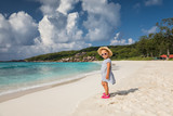 Seychelles with child