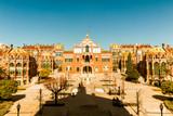 Sant Pau hospital - Art Nouveau site, Barcelona, Spain