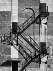 Stalowe schody przeciwpożarowe