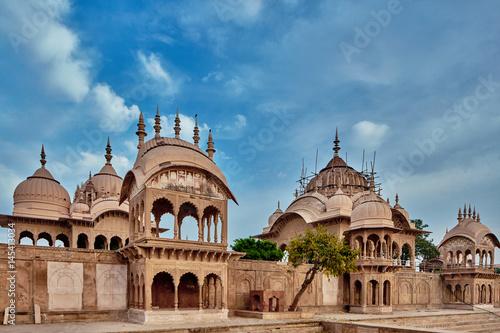 Stampa su Tela Kusum sarovar ancient abandoned temple in India UP