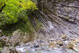 Beautiful mountain river with rocks