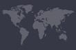 World Map Dot Pattern Illustration