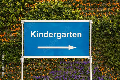 Schild 193 - Kindergarten