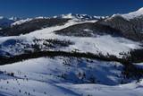 Mountain winter scenery