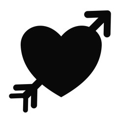 heart icon over white background. vector illustration