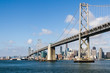 The Bay Bridge and San Francisco Skyline