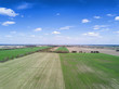 farming field , aerial view