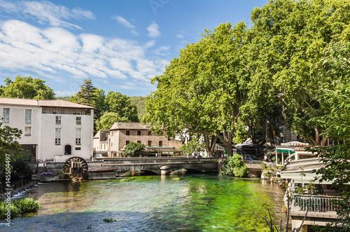 Plagát Fontaine-de-Vauclus, Provence, France