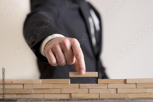 Fototapeta Concept of business strategy