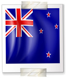 Icon design for flag of New Zealand