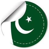 Sticker design for Pakistan