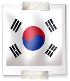 Icon design for flag of South Korea