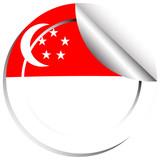 Sticker design for Singapore