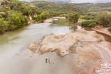 River called Rio Grande o Choluteca in Honduras