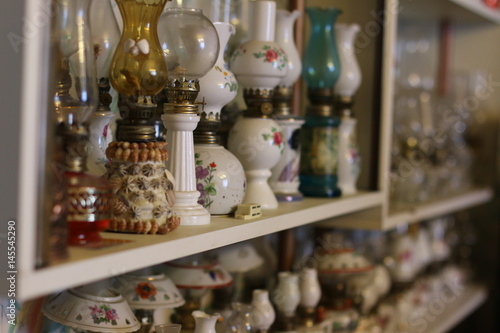 Oil lamps collection