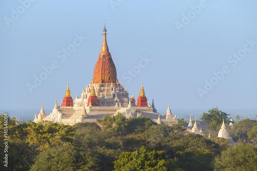 Poster Ananda Pagoda in Bagan Myanmar
