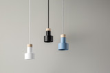 Hanging colorful lamps - 145546465