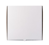 Pizza box isolated on the white background - 145547627