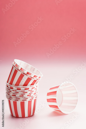 Empty cupcake cases Poster
