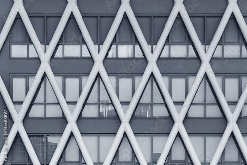 Facade of modern building - 145568897