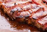 steak on wood