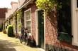 Romantisch straatbeeld in de historische binnenstad van Leeuwarden.