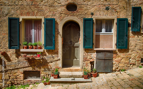 Papiers peints Toscane old House in the Tuscany