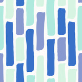 Abstract Brush Strokes Pattern - 145609685