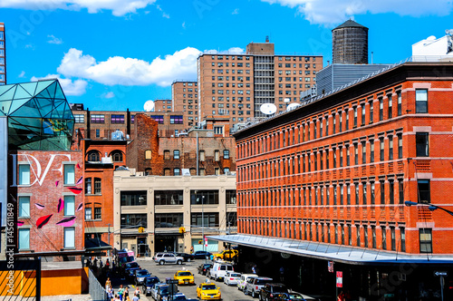 View from the High Line in Chelsea, New York Poster