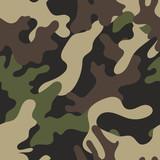 Fototapety Camouflage pattern background seamless vector illustration