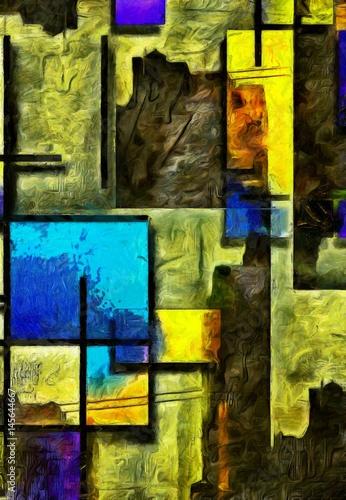 Póster Mondrian