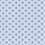 Indigo square background in vector seamless pattern - 145658249