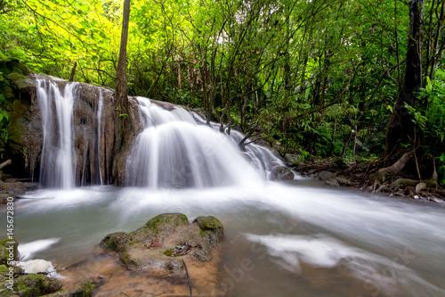 Big Waterfall inThailand - 145672830