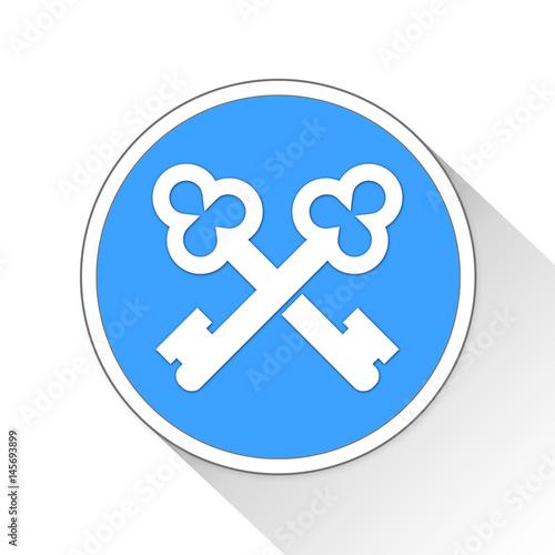 concierge Button Icon Business Concept