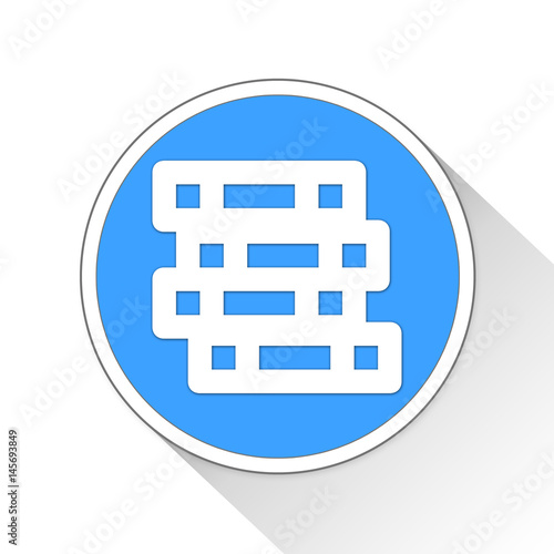 Poster Coins Button Icon Business Concept