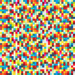 Abstract geometric art mosaic background with vibrant color tone.
