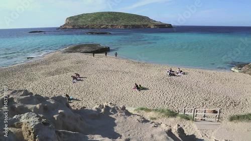 Comte Beach, Ibiza, Spain